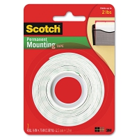 SCOTCH-MOUNTINGTAPE-2PK-110