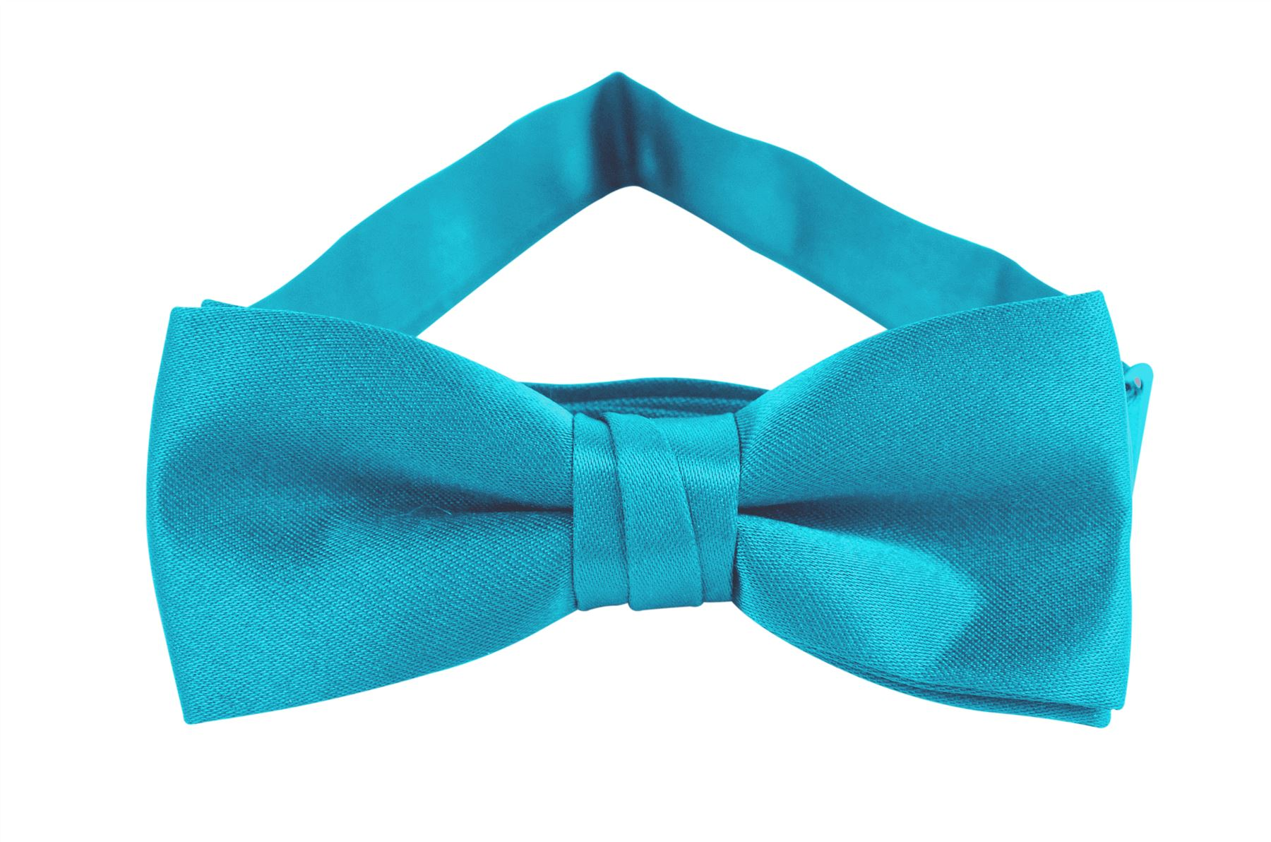 Solid Color Boys Bowtie - Turquoise