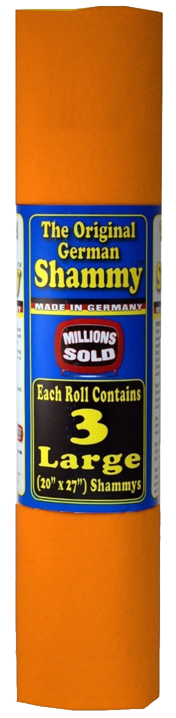 "Smart TV Solutions The Original German Shammy, 3 pack (20""x27"" each)"