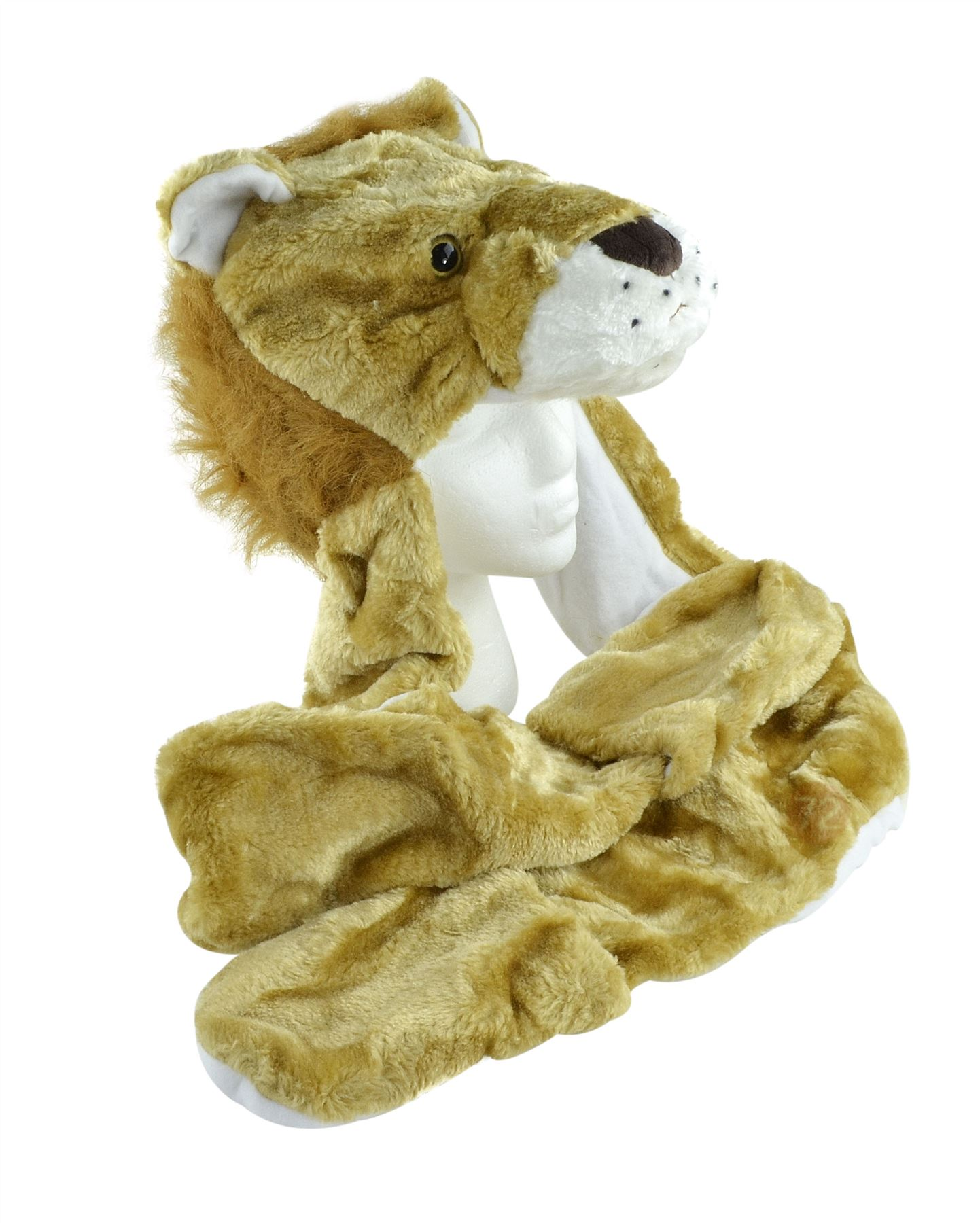 Animal Hat with Paws Lion