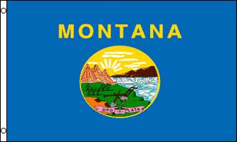 Montana State Flag 3x5 3 x 5 Brand NEW MT USA Banner