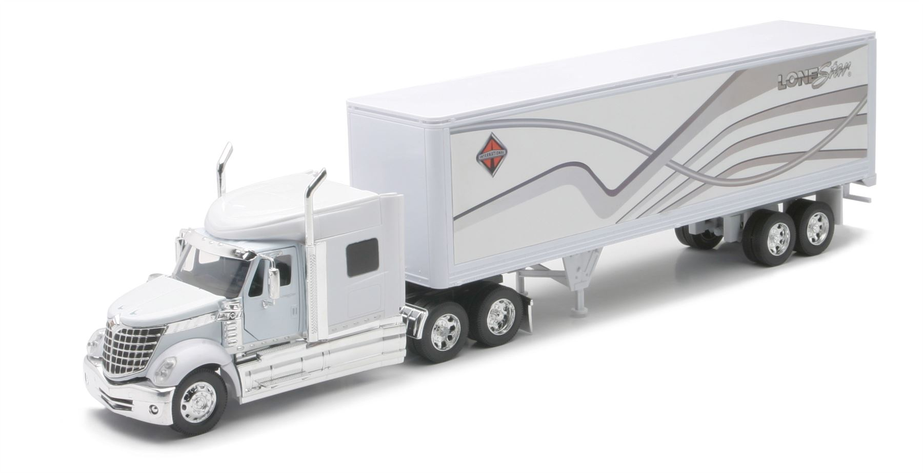 International Lonestar With Container NewRay Diecast 1:32 Scale