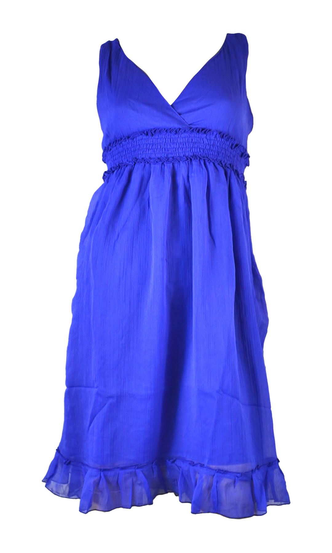 Belle Donne- Women's Tie Dye Maxi Summer Dress Summer Nights Maxi Dress - Blue