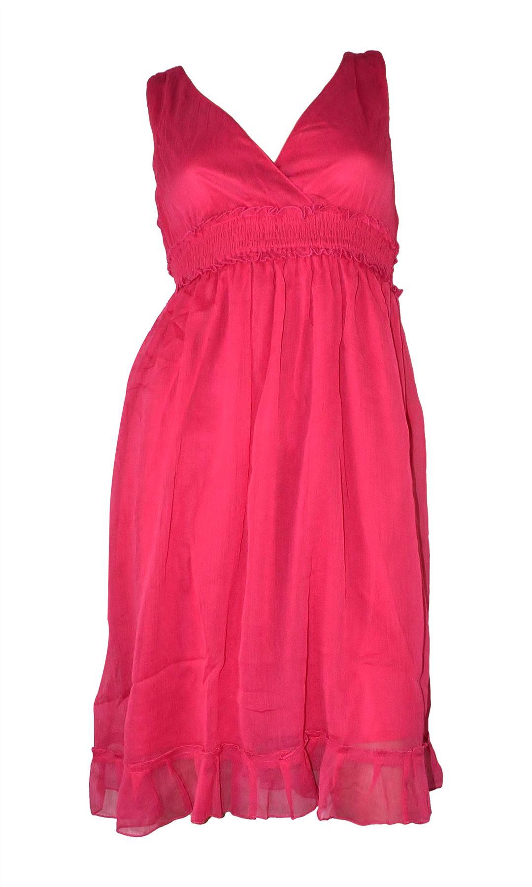 Belle Donne- Women's Tie Dye Maxi Summer Dress Summer Nights Maxi Dress - Pink