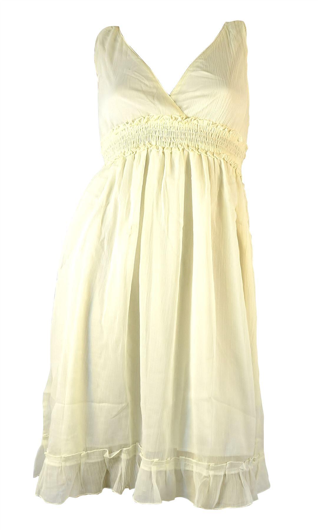 Belle Donne- Women's Tie Dye Maxi Summer Dress Summer Nights Maxi Dress - White