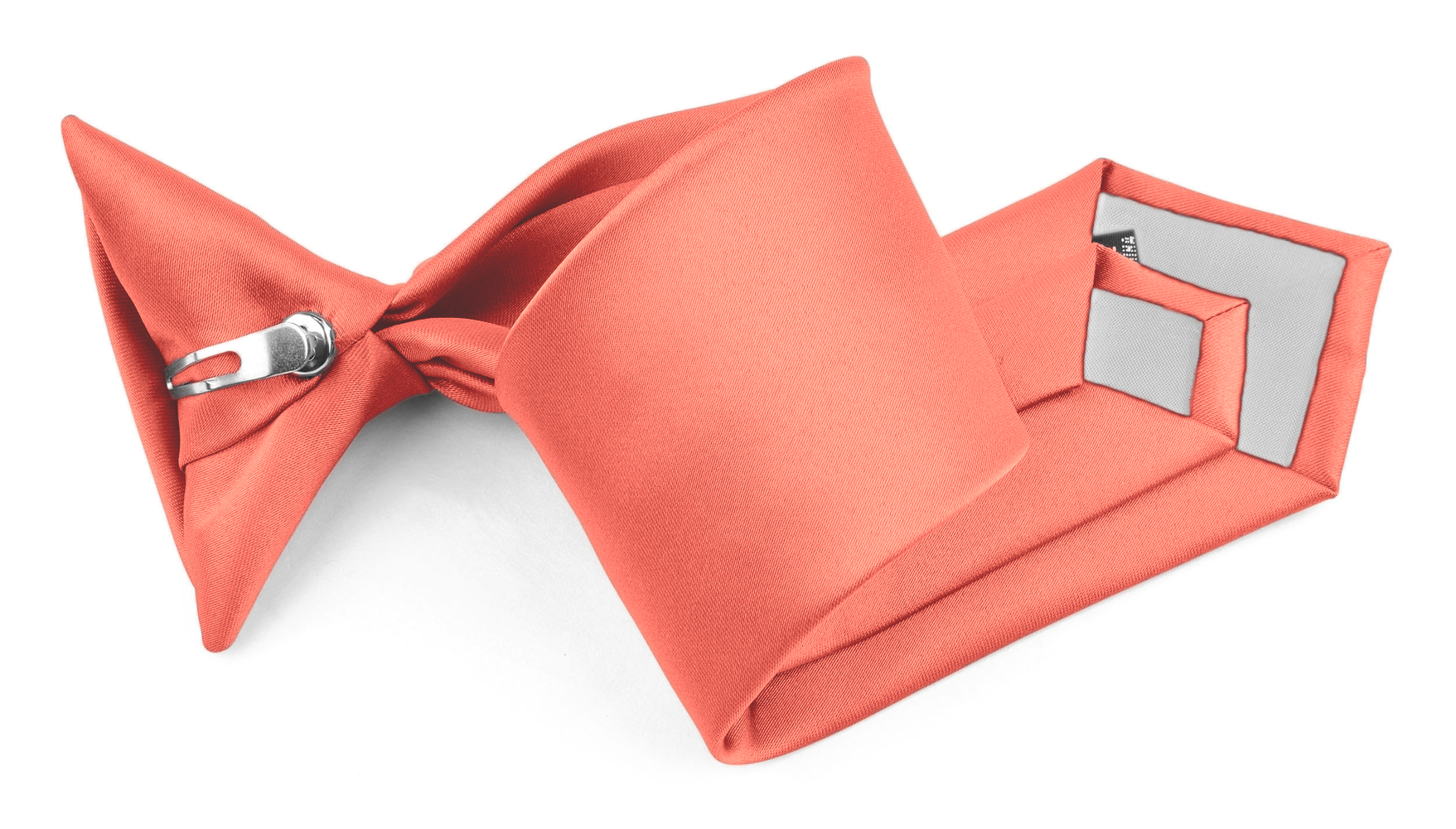 Solid Color Clip-on Ties for Kids by Moda Di Raza Boy/'s Clip on NeckTies