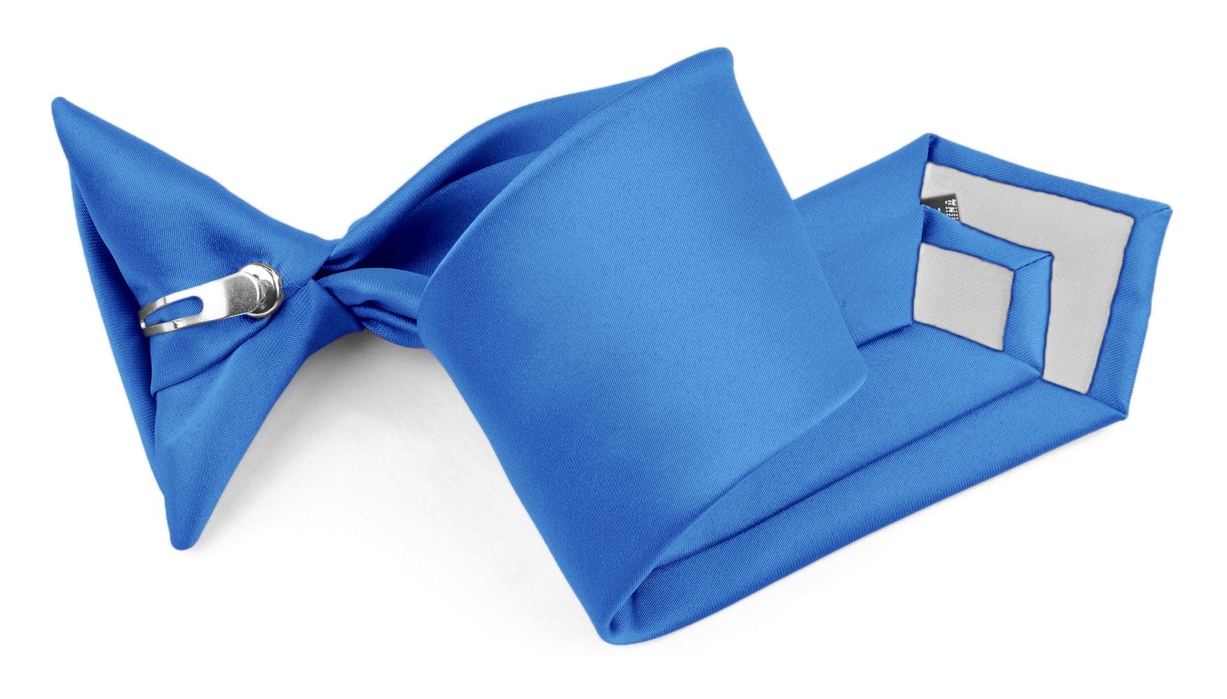 "Moda Di Raza - Boy's NeckTie Solid Clip on - Children's Necktie - Peacock 11"""