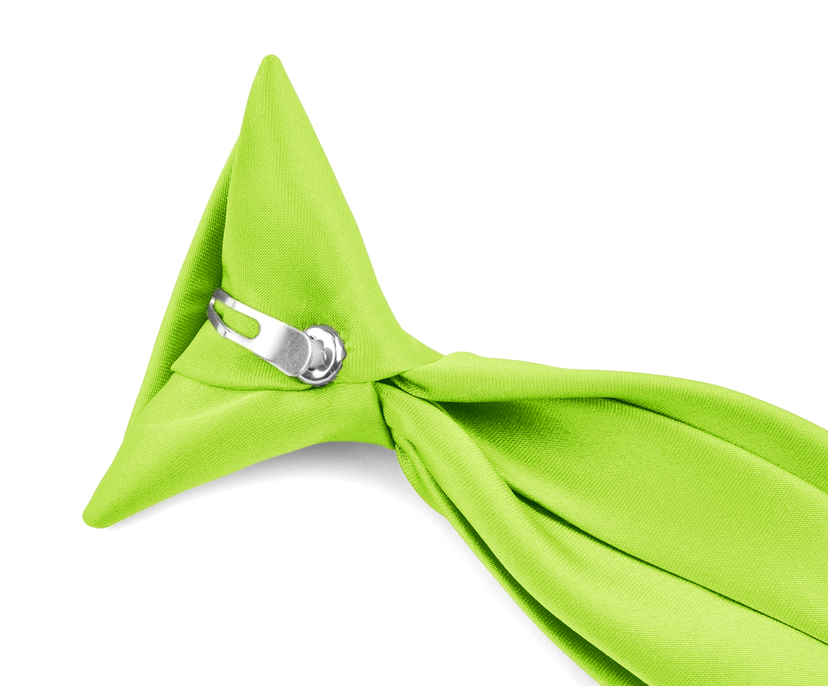 Boy\'s Clip on NeckTies - Solid Color Clip-on Ties for Kids by Moda ...