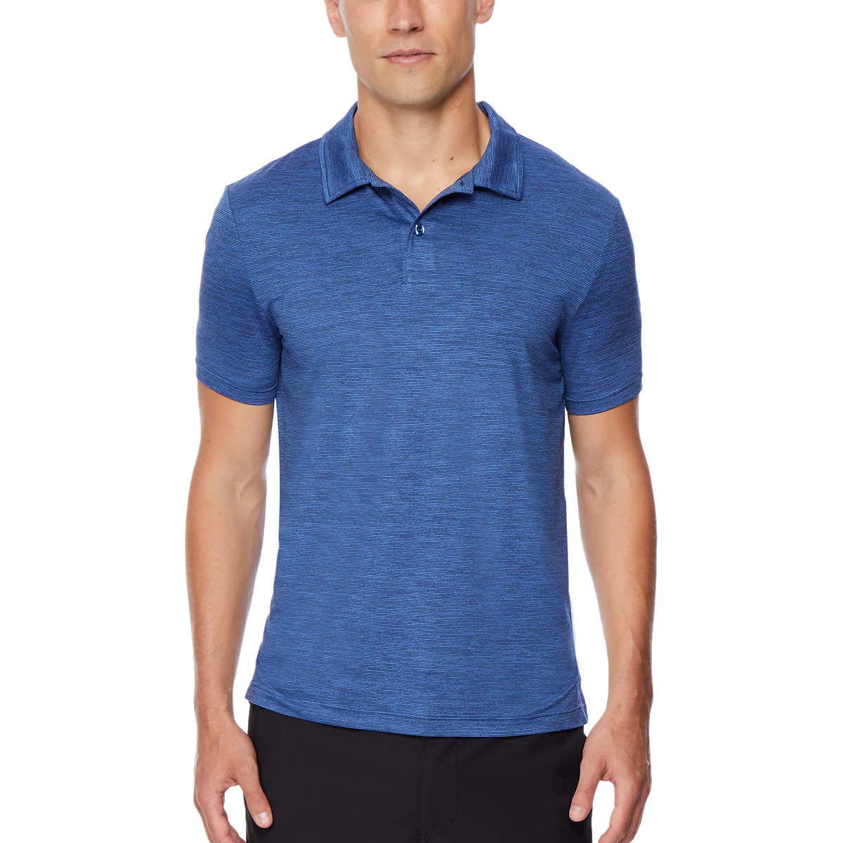 32 DEGREES Men's Ultra Lux Polo (XL, Blue)