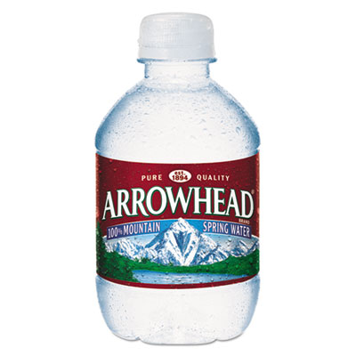 Arrowhead - Natural Spring Water, 8 oz Bottle, 48 Bottles/Carton 827163 (DMi CT