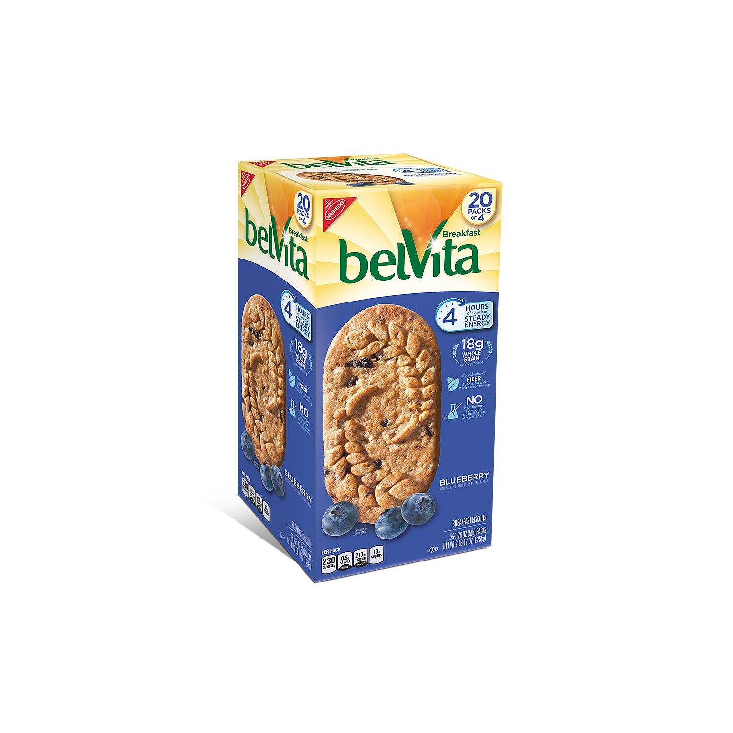 belVita Blueberry Breakfast Biscuits (20 ct.)