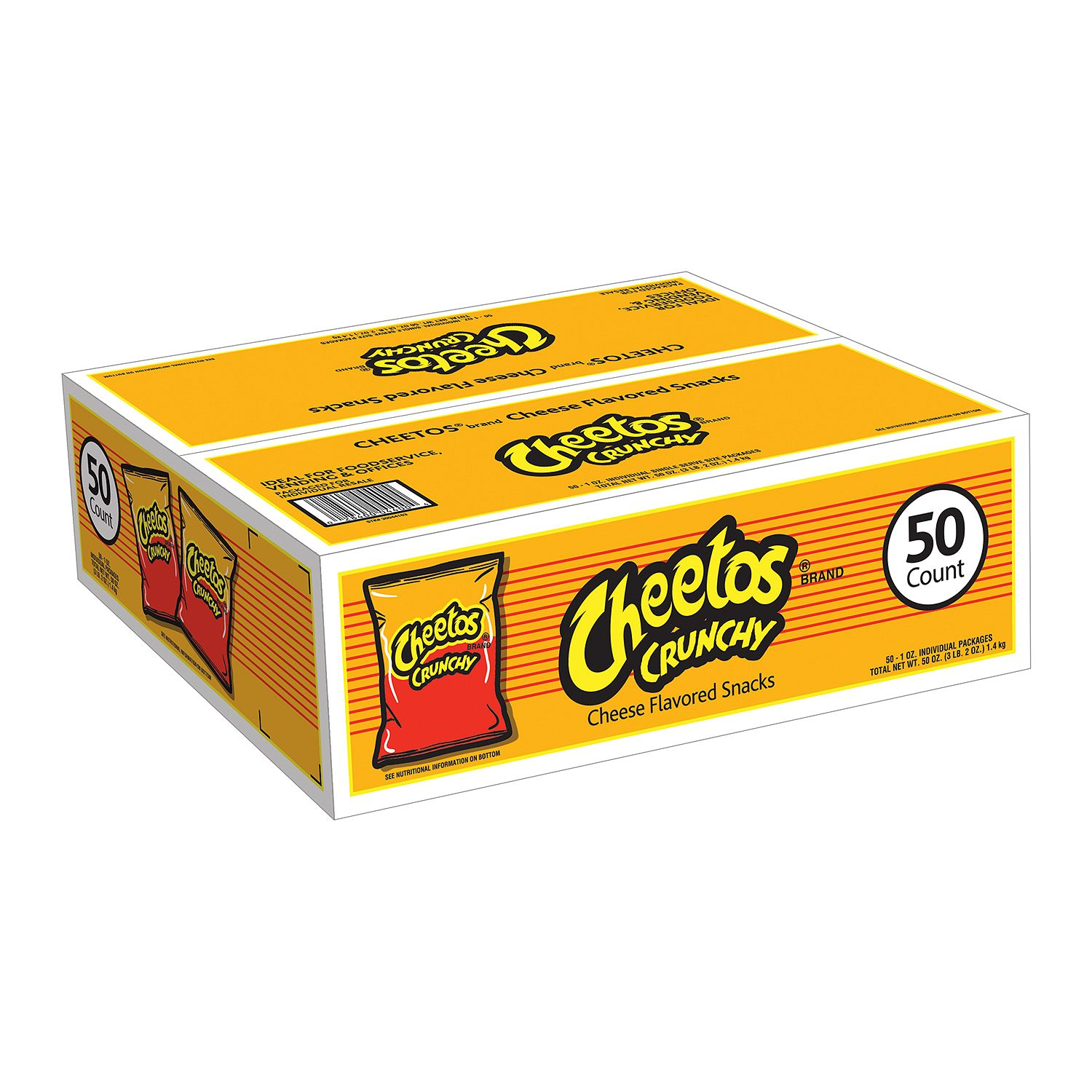 Cheetos Crunchy 1 oz. (50 ct.)