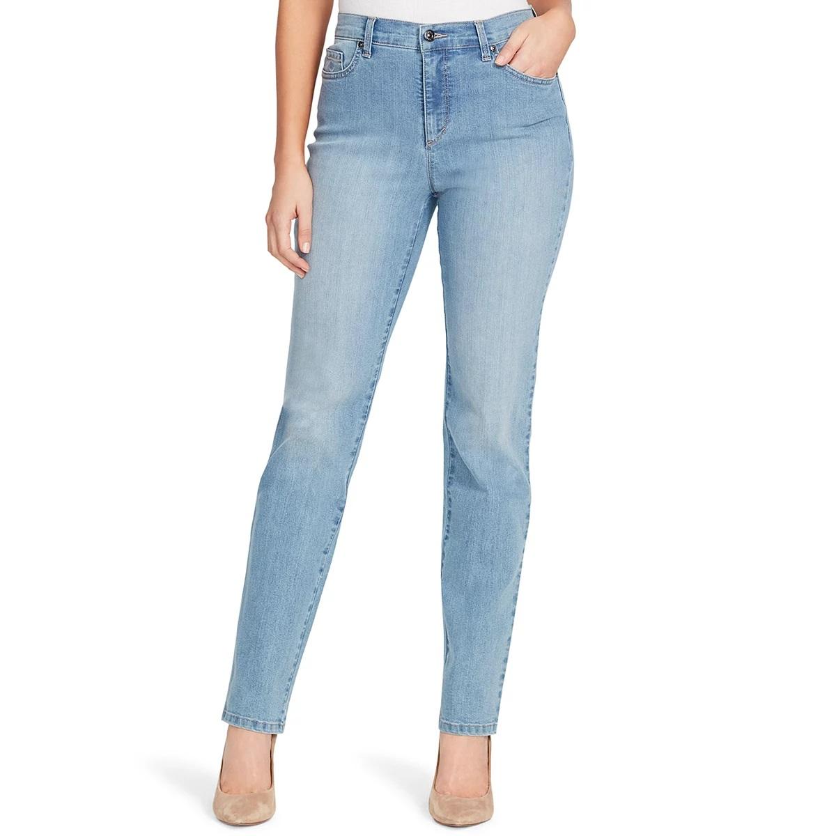 Gloria Vanderbilt Ladies Denim Average Length Jeans - Callisto Wash 6
