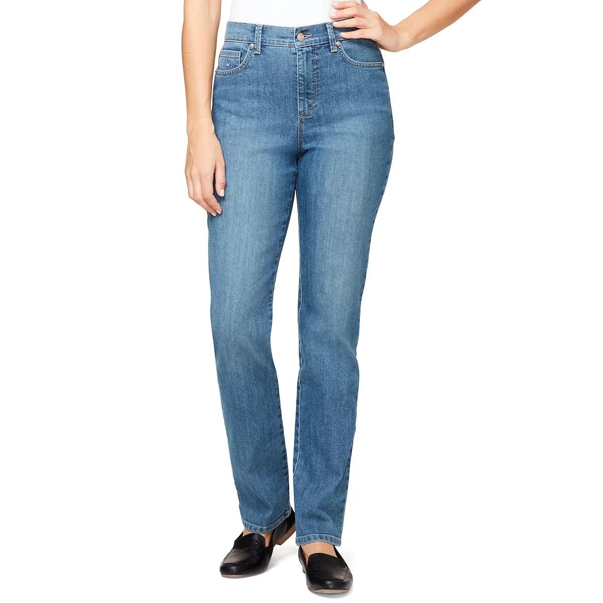 Gloria Vanderbilt Ladies Denim Average Length Jeans - Hartford 6