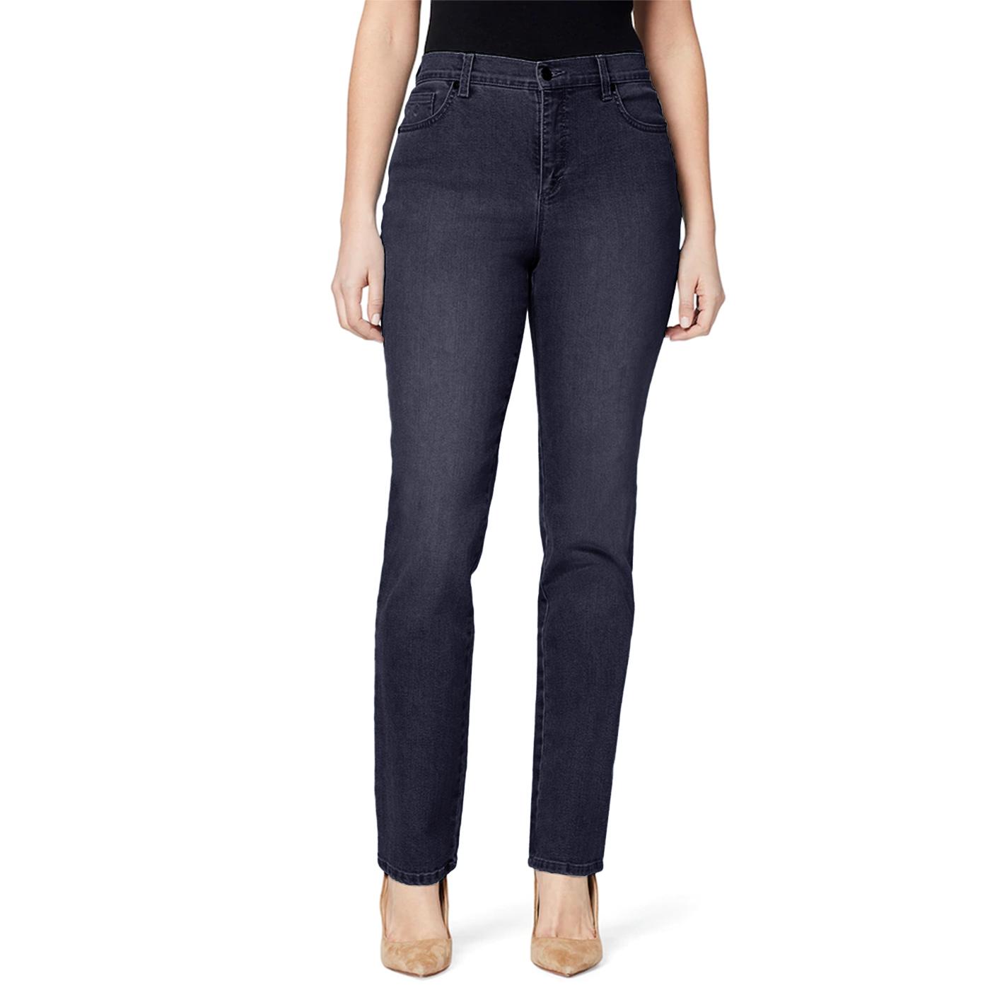 Gloria Vanderbilt Ladies Denim Average Length Jeans - Rinse Nior Blue 16