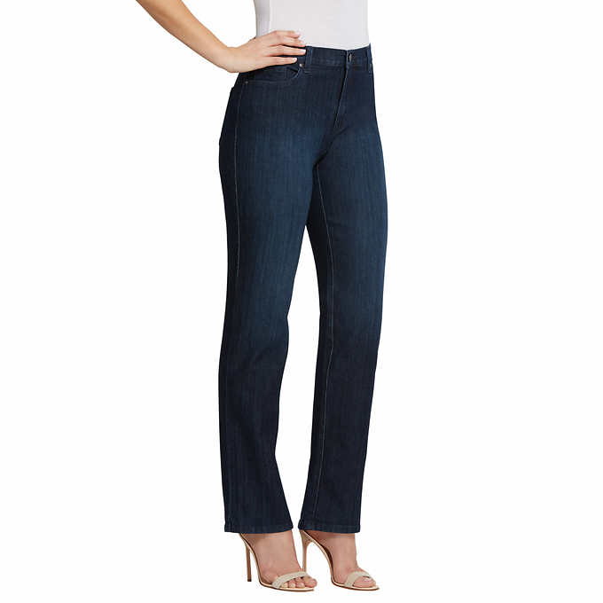 Gloria Vanderbilt Ladies Denim Average Length Jeans - Scottsdale Blue 10