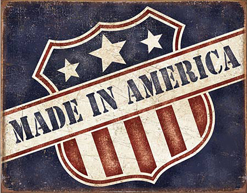 Shop72 - American Theme Tin Sign Decorative Sign and Vintage Retro TinSigns - Made in America