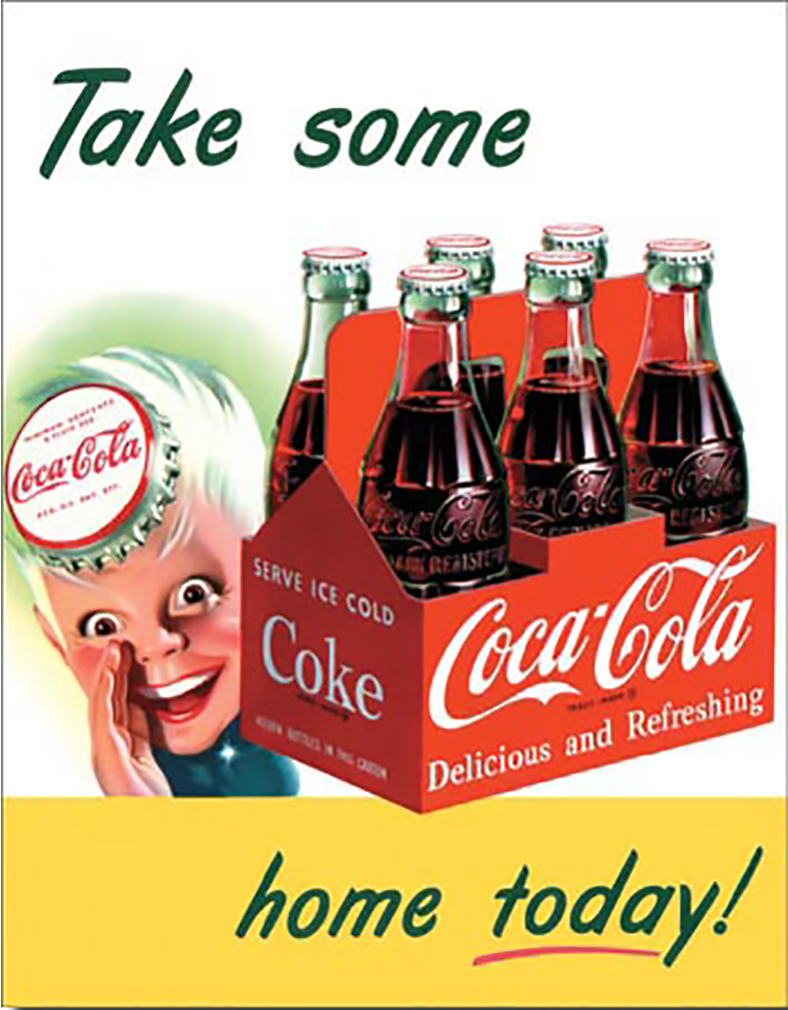 Shop72- Tin Signs Coke Cola Sprite Boy Tame Home Retro Tin Sign Vintage Tin Signs