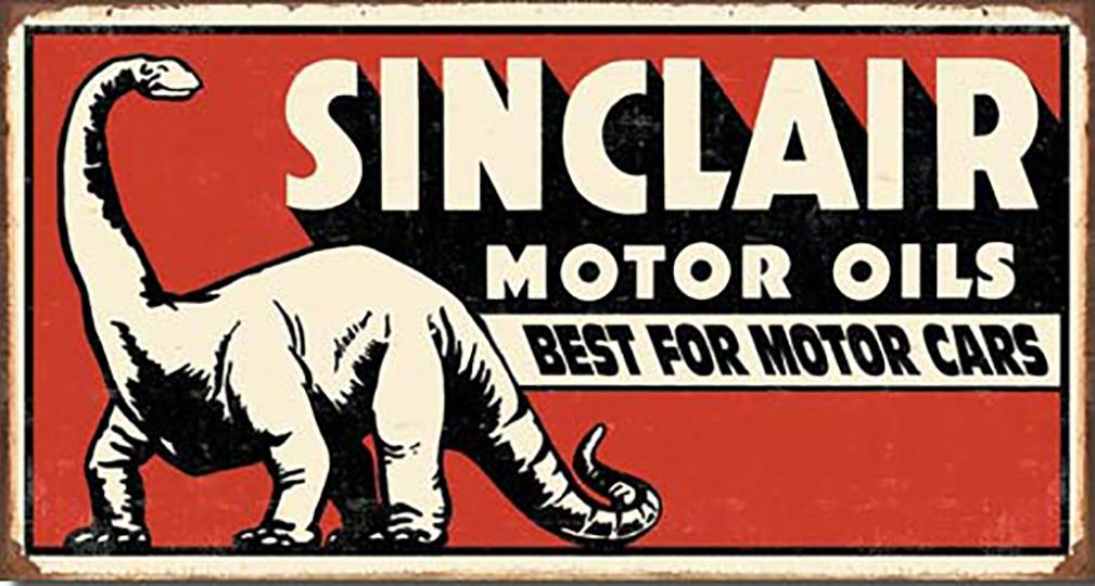 Shop72 - Sinclair Gas Tin Signs Retro Vintage Gas Tin Sign n Oil Tin Sign Wall Decor Garage -