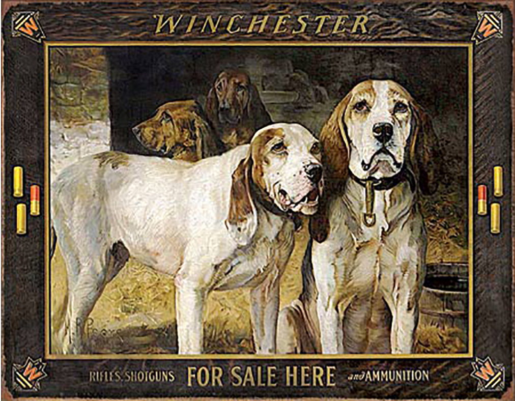Shop72 - Winchester - for Sale Here Tin Sign Retro Vintage Distressed with Wall Stickers