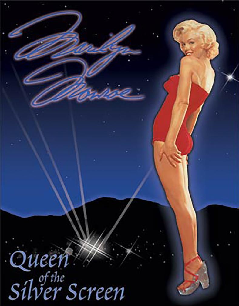 Shop72 - Hollywood Movie Tin Sign Marilyn Monroe Sexy Tinsign -