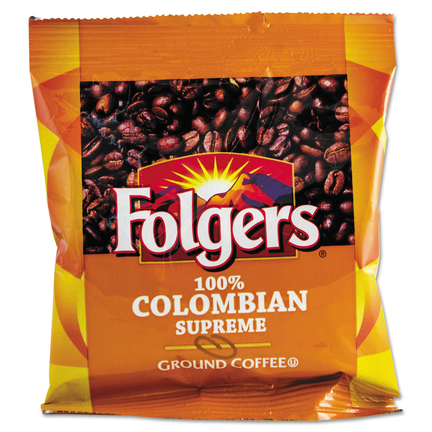 Folgers Colombian Ground Coffee (1.75 oz. pack, 42 ct.)