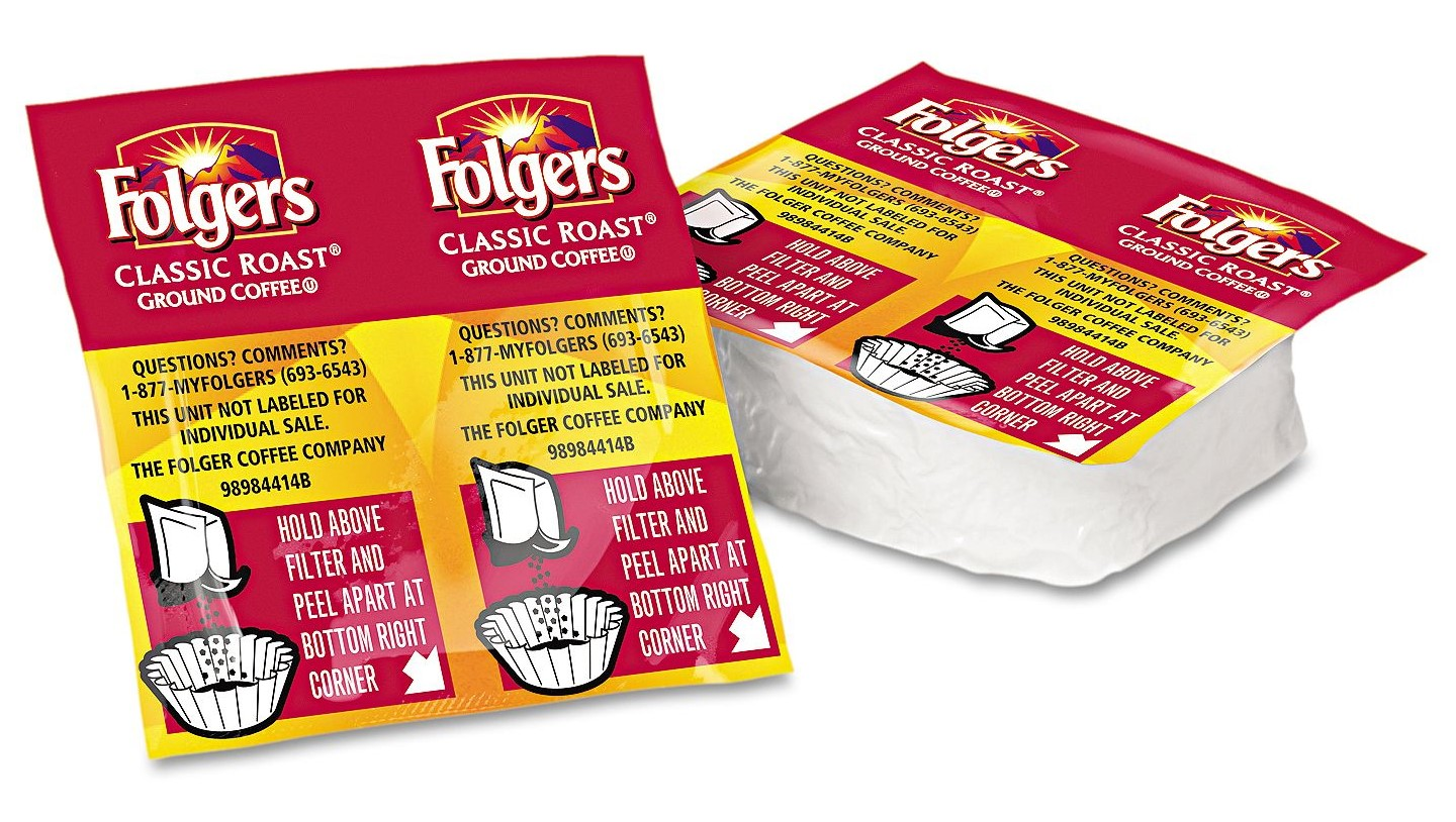Folgers Classic Roast Premeasured Packs (0.9 oz., 42 ct.)