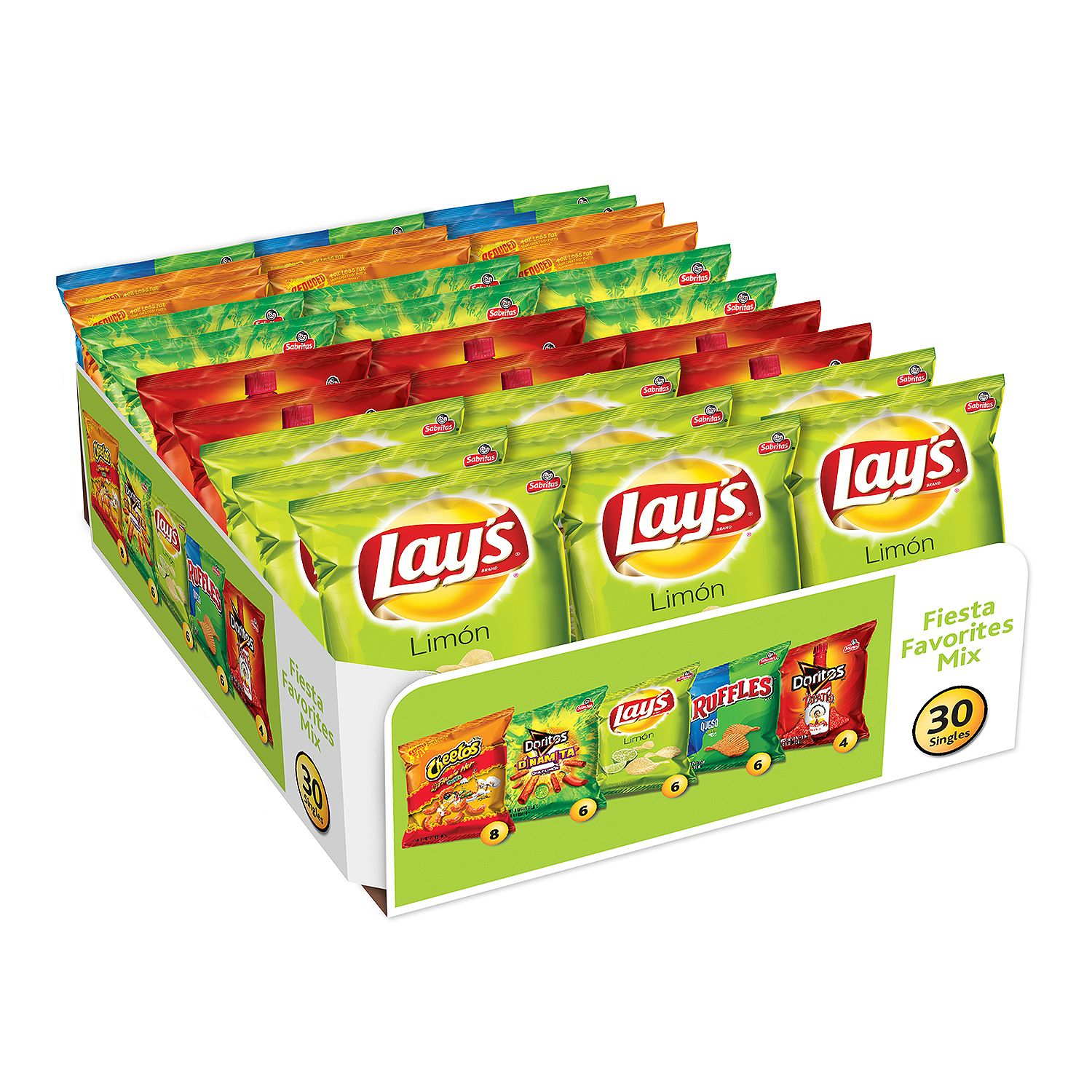 Frito-Lay Fiesta Favorites Variety Pack (30 ct.)