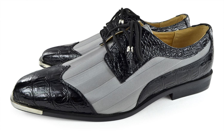 Moda Di Raza- Men's Dress Shoes Leather Shoe Business Formal Casual Parties - Black