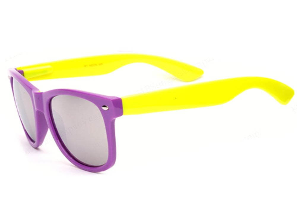 Belle Donne- Purple and Yellow Mirror Lens