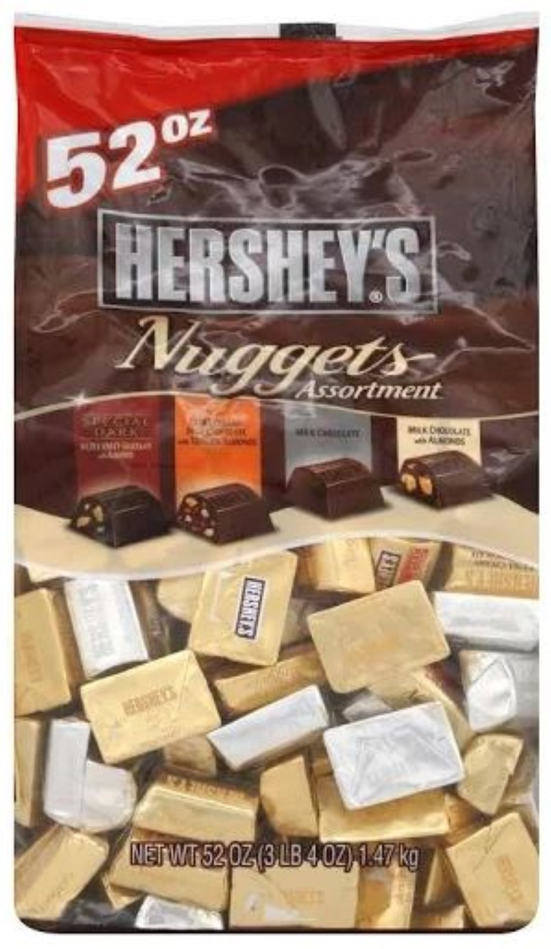 Hershey's Nuggets, Assortment - 52 oz bag