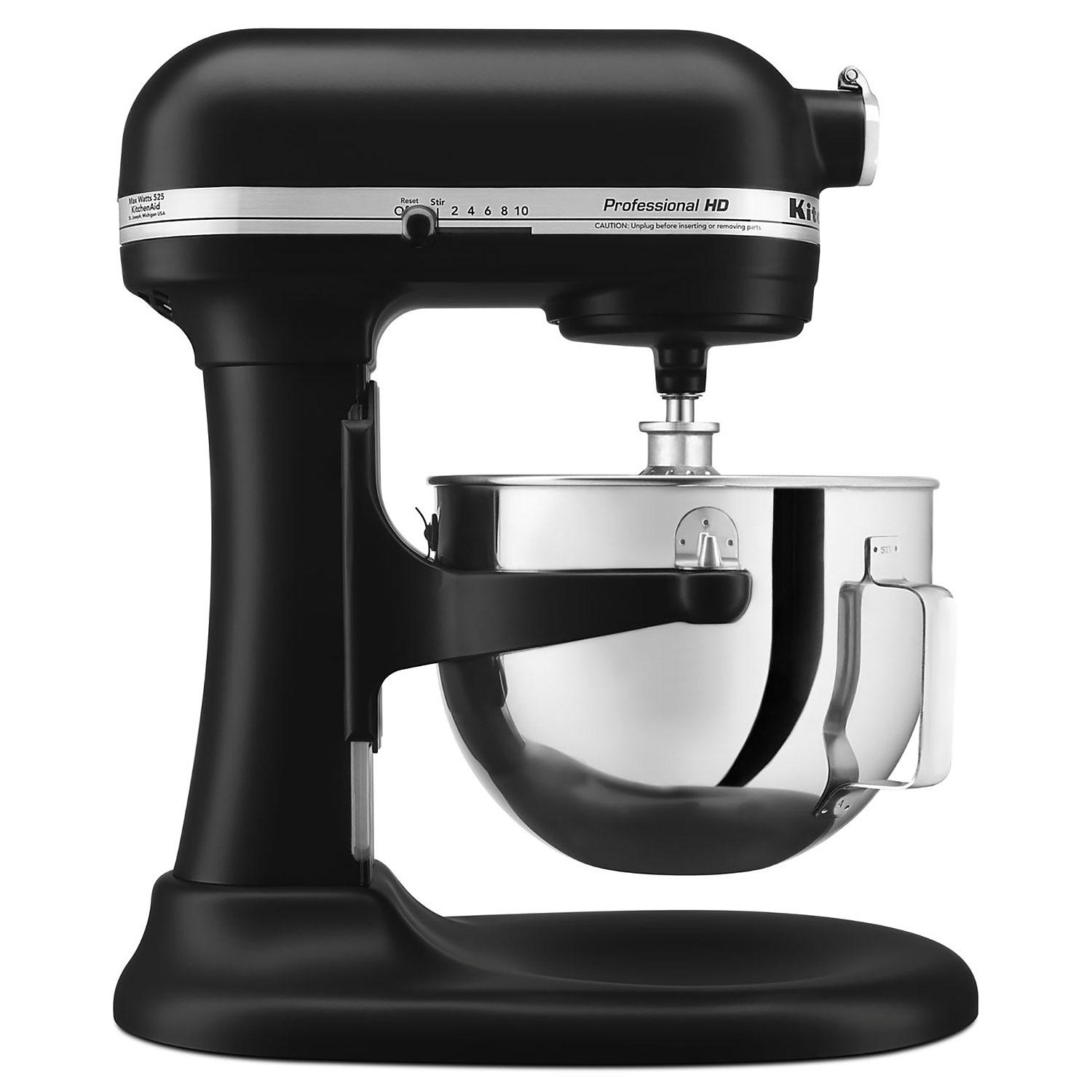 KitchenAid Professional  KG25HOX/MC  5-Quart Heavy-Duty Stand Mixer - Matte Black