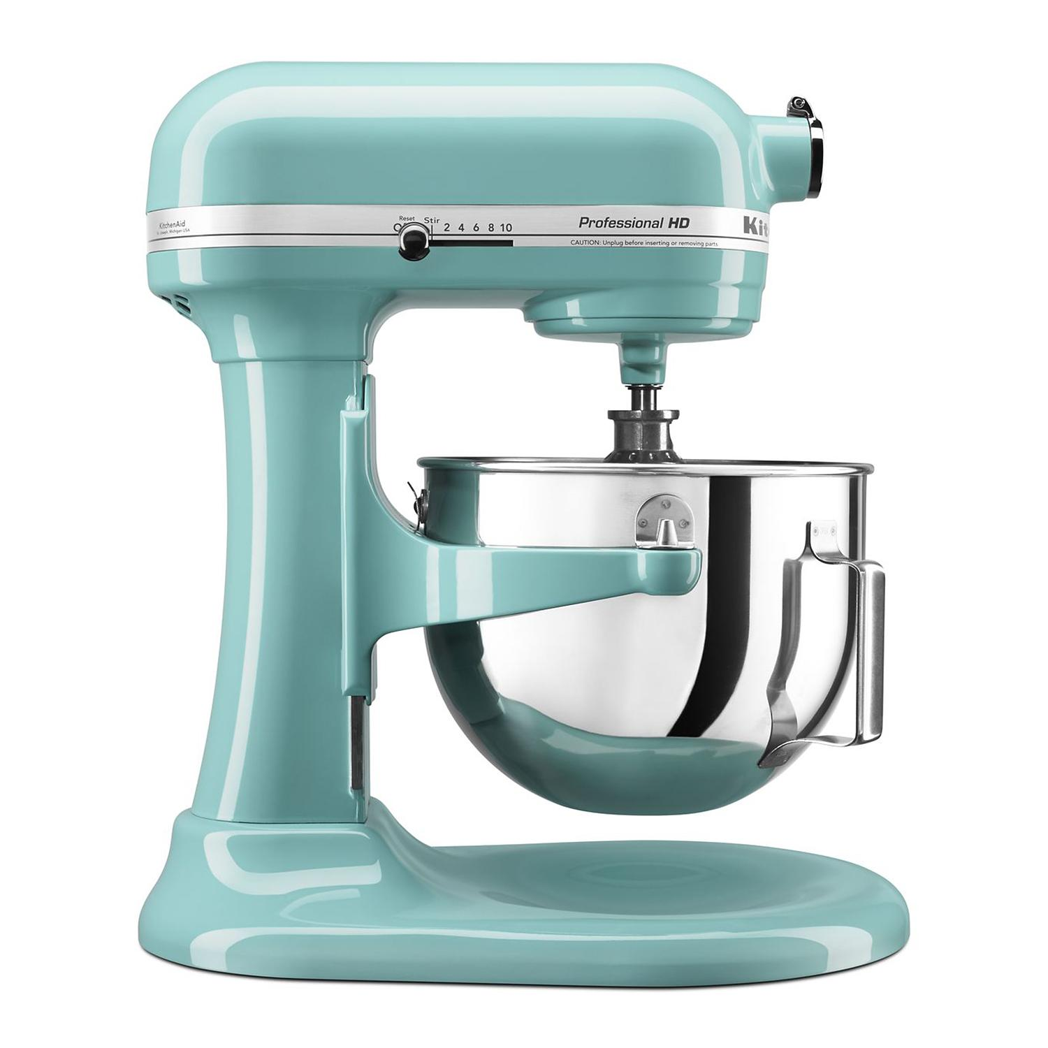 KitchenAid Professional  KG25HOX/MC  5-Quart Heavy-Duty Stand Mixer - Aqua Sky