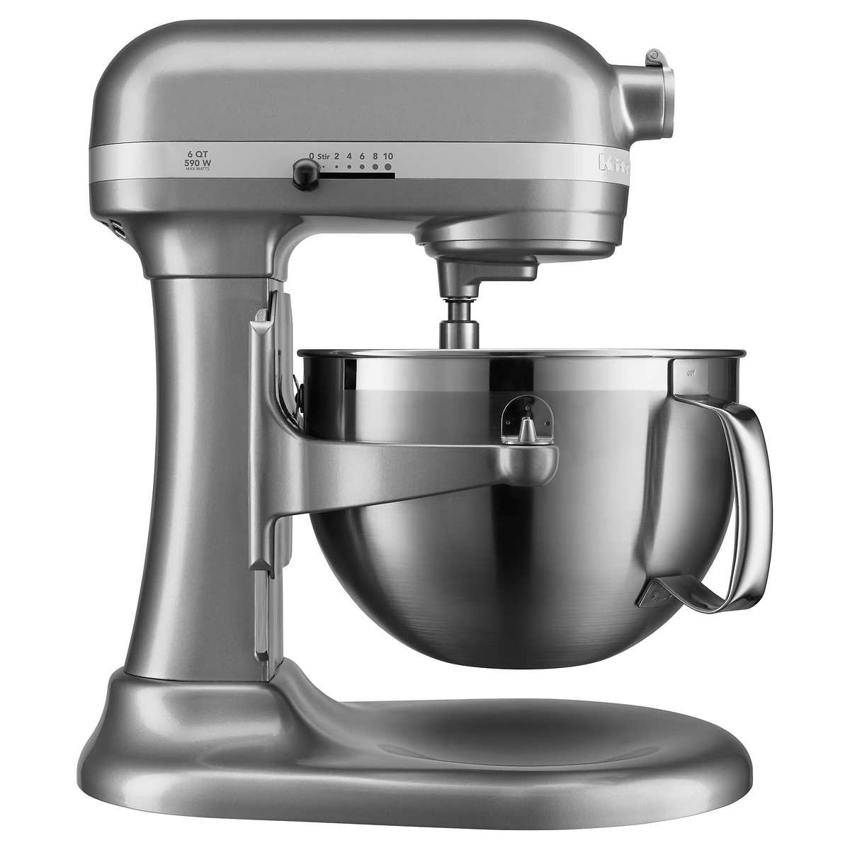 KitchenAid Professional Series 6 Quart Bowl Lift Stand Mixer w/ Flex Edge - Silver