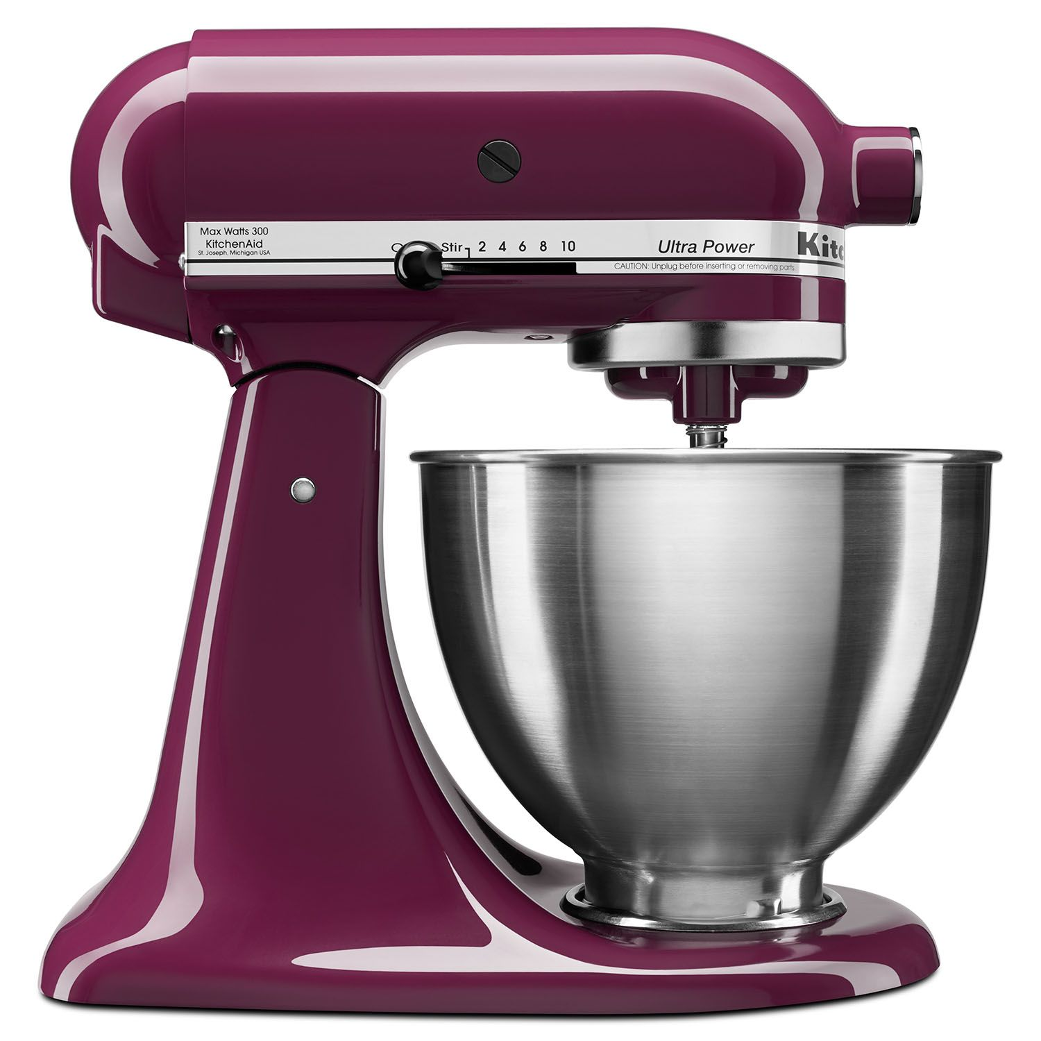 Kitchenaid 4.5 Quart Tilt Stand Mixer - Purple