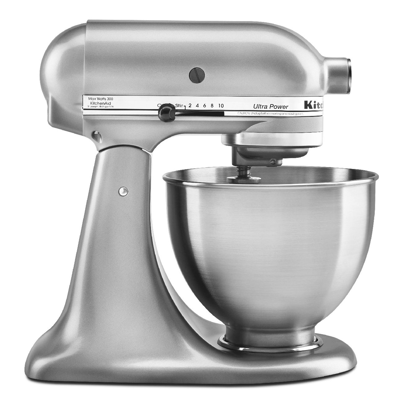 Kitchenaid 4.5 Quart Tilt Stand Mixer - Silver