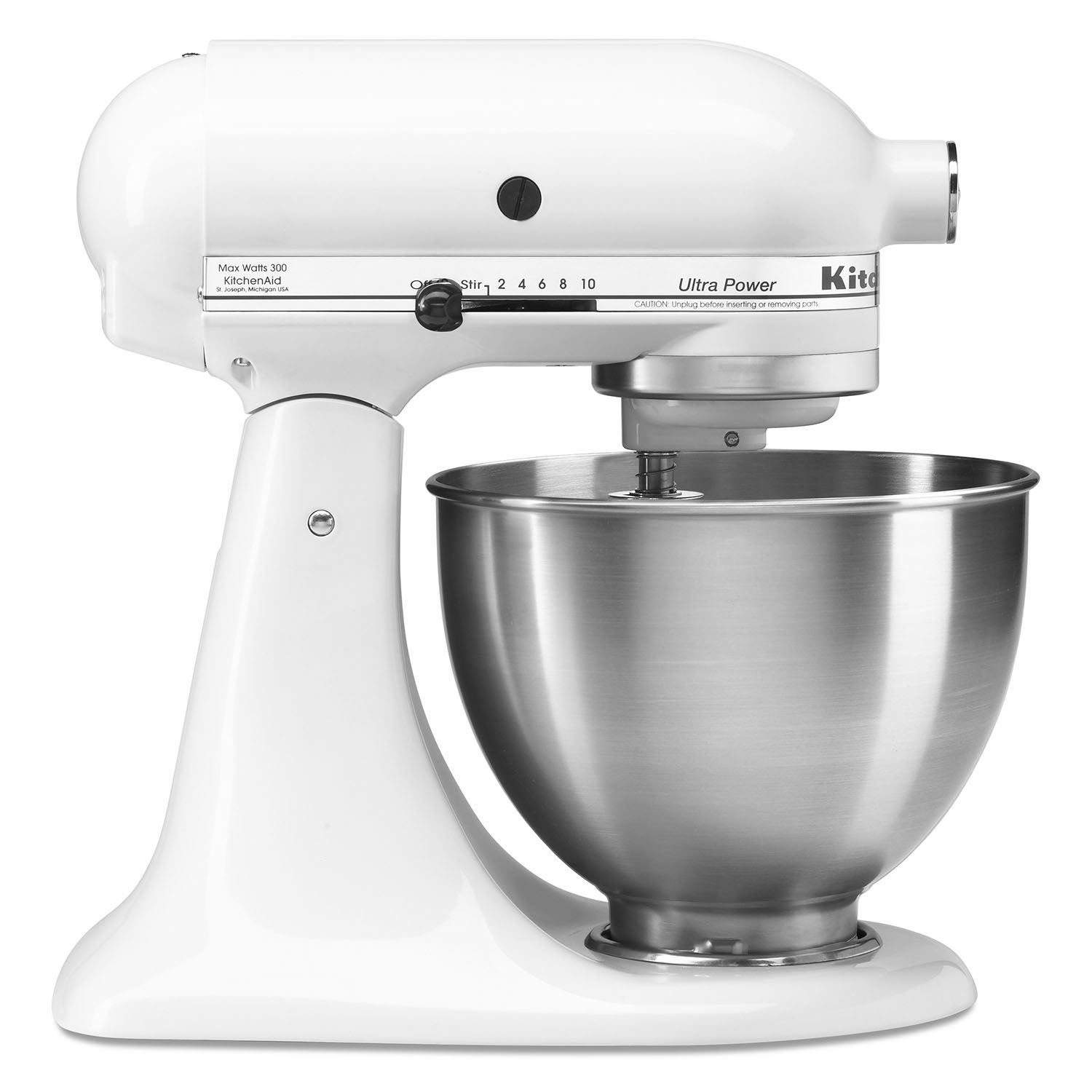 Kitchenaid 4.5 Quart Tilt Stand Mixer - White