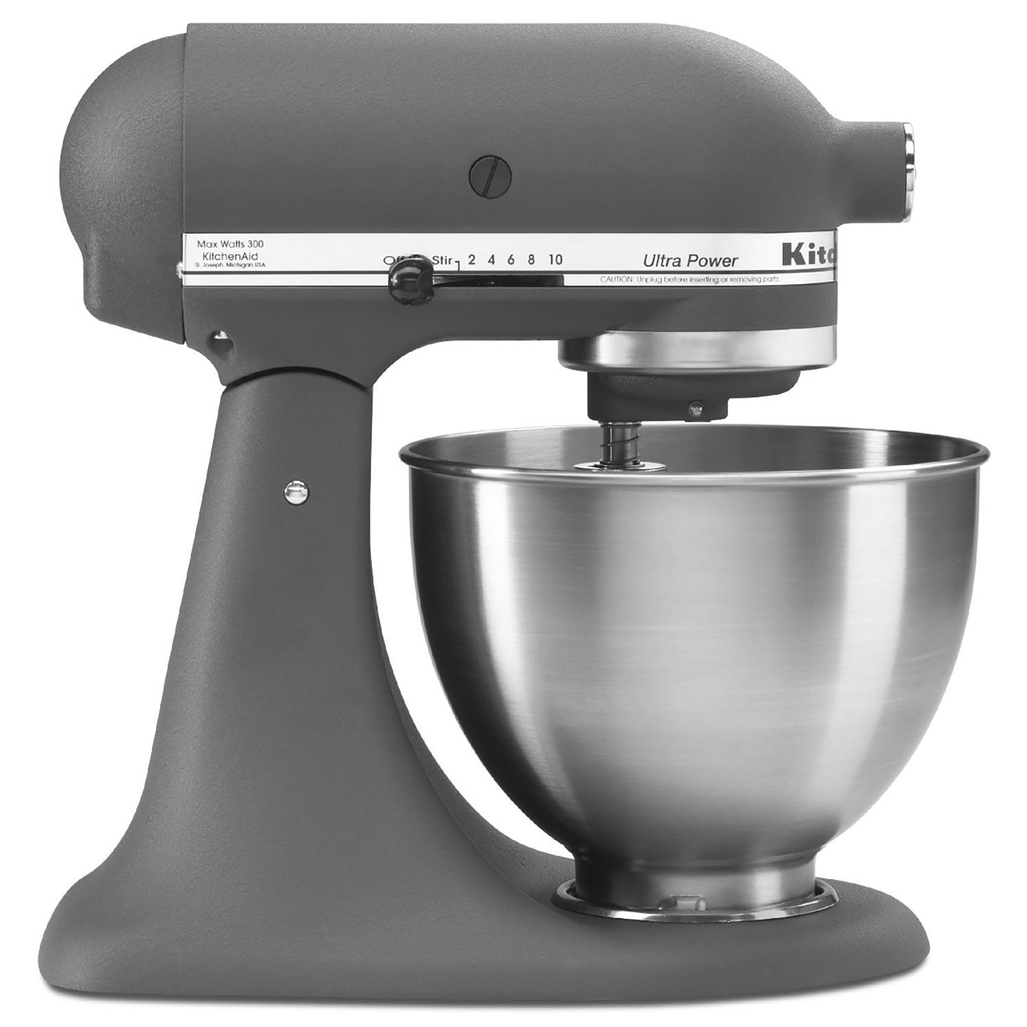 Kitchenaid 4.5 Quart Tilt Stand Mixer - Gray