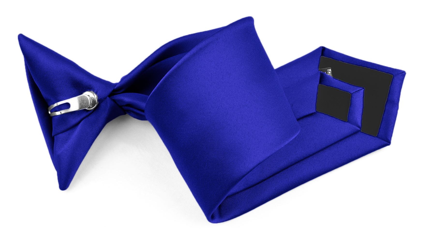 """Moda Di Raza - Boy's NeckTie Solid Clip on - Children's Necktie - Royal 11"""""""