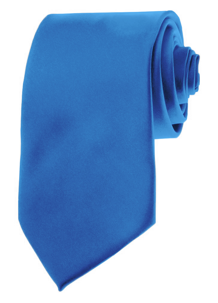"Mens Neckties - Solid Color Ties - 3.5"" Basic Neck Ties for Men by Moda Di Raza - Peacock"