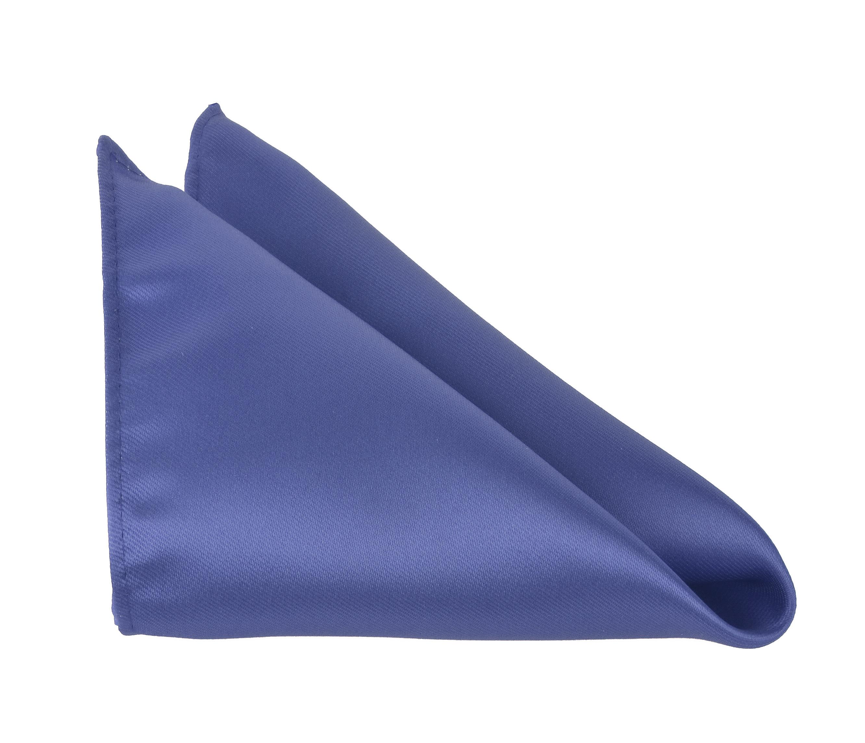 Men Pocket Square 10 x 10 Handkerchiefs Solid Color by Moda Di Raza - Ocean