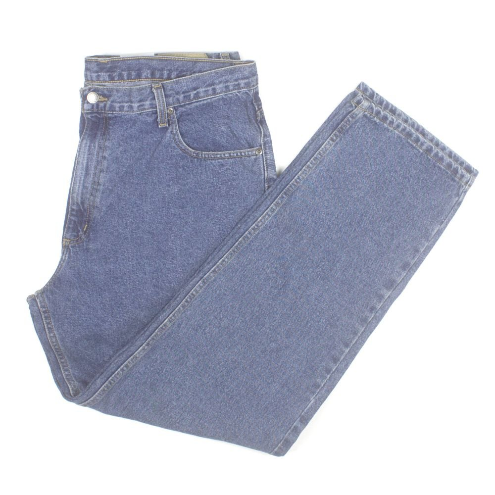 Member's Mark Mens Relaxed Fit Jeans W38xL34 Light Stonewash