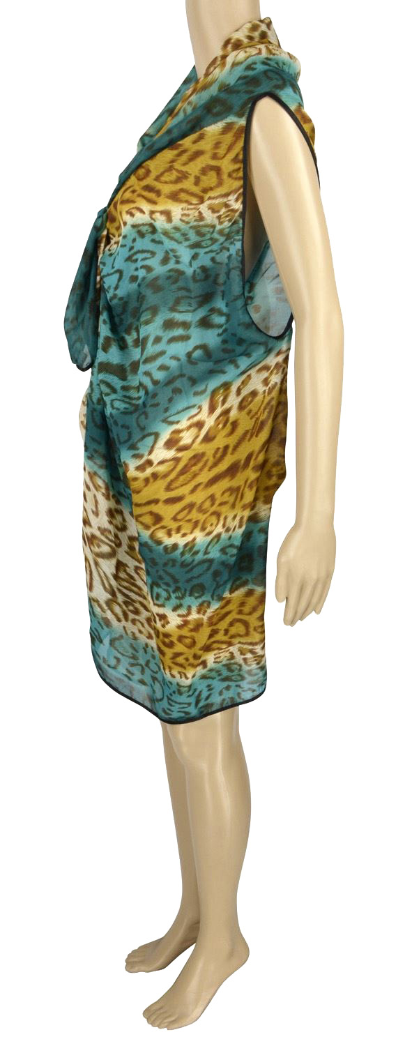 Belle Donne - Women's Beach Cover Up Assorted Colors - Green/Free Size
