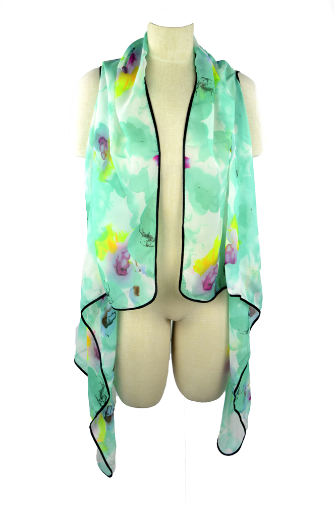 Belle Donne - Women's Beach Cover Up Assorted Colors - Teal/Free Size