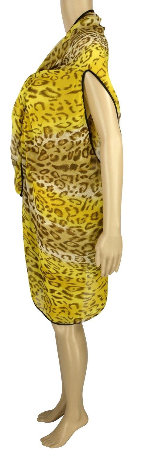 Belle Donne - Women's Beach Cover Up Assorted Colors - Yellow/Free Size
