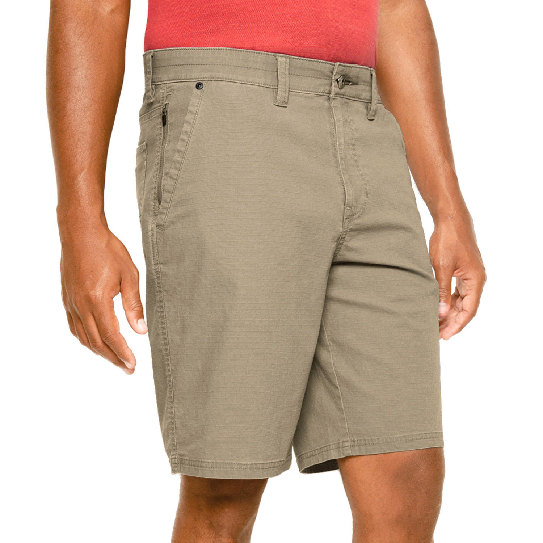 Weatherproof Men's Ripstop Zipper Pocket Utility Short - Birch 40W