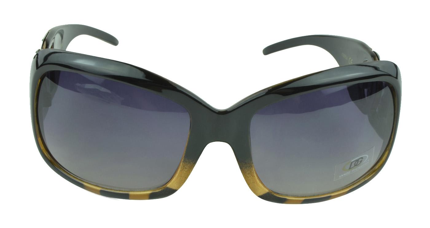 Women's Sunnglasses Bold Accent Fashion Oversized Retro Sunglasses - Tiger One Size