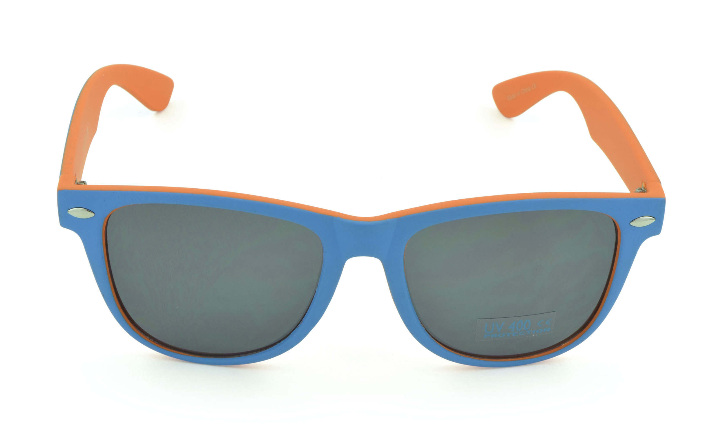 Belle Donne - Wayfarer Sunglasses Trendy Cheap Sunglasses High Quality - Womens Mens GIrls Boys Unisex Sunglasses - Orange