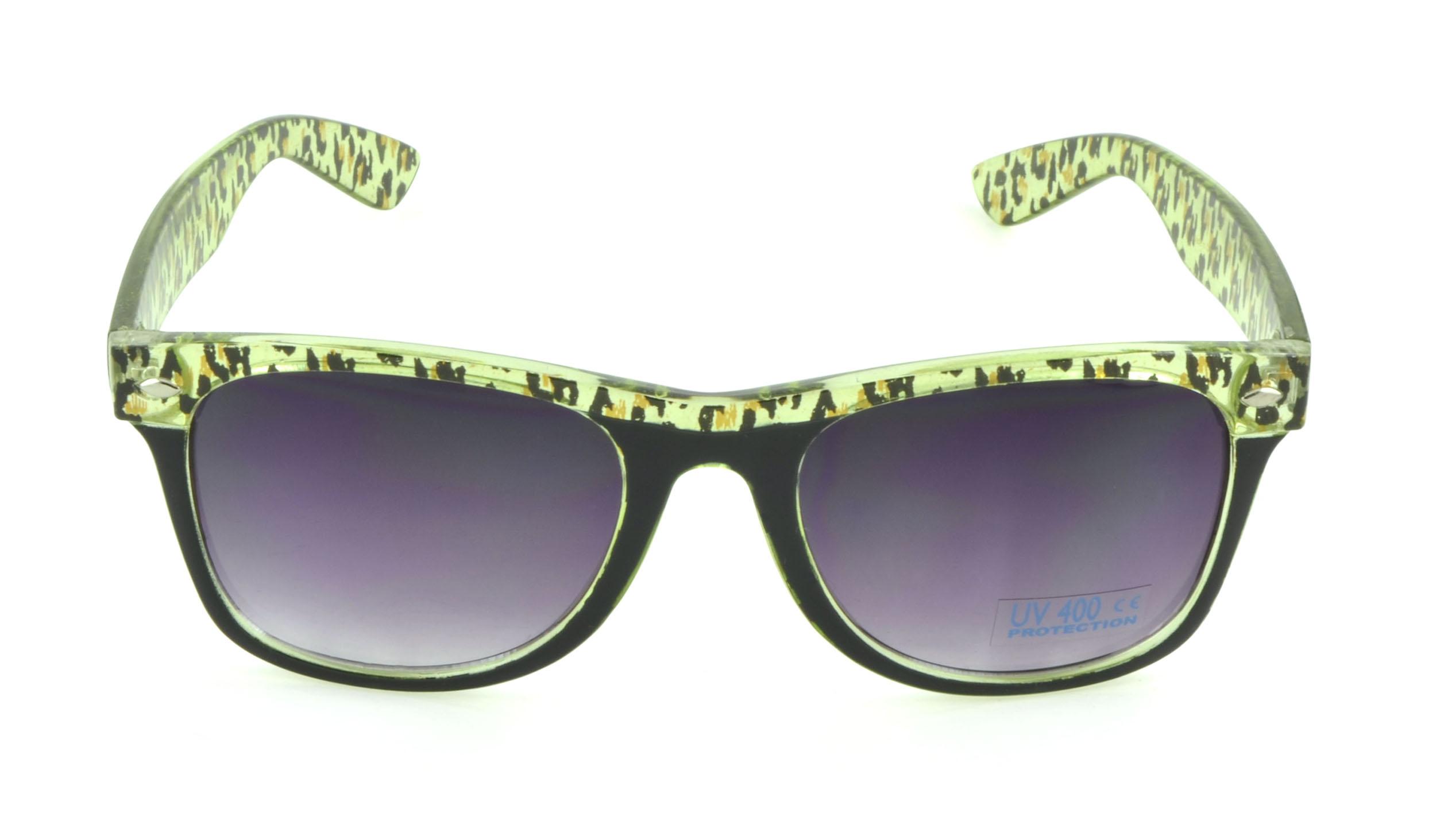 Belle Donne - Wayfarer Sunglasses Trendy Cheap Sunglasses - Womens Mens GIrls Boys Unisex Sunglasses - Green