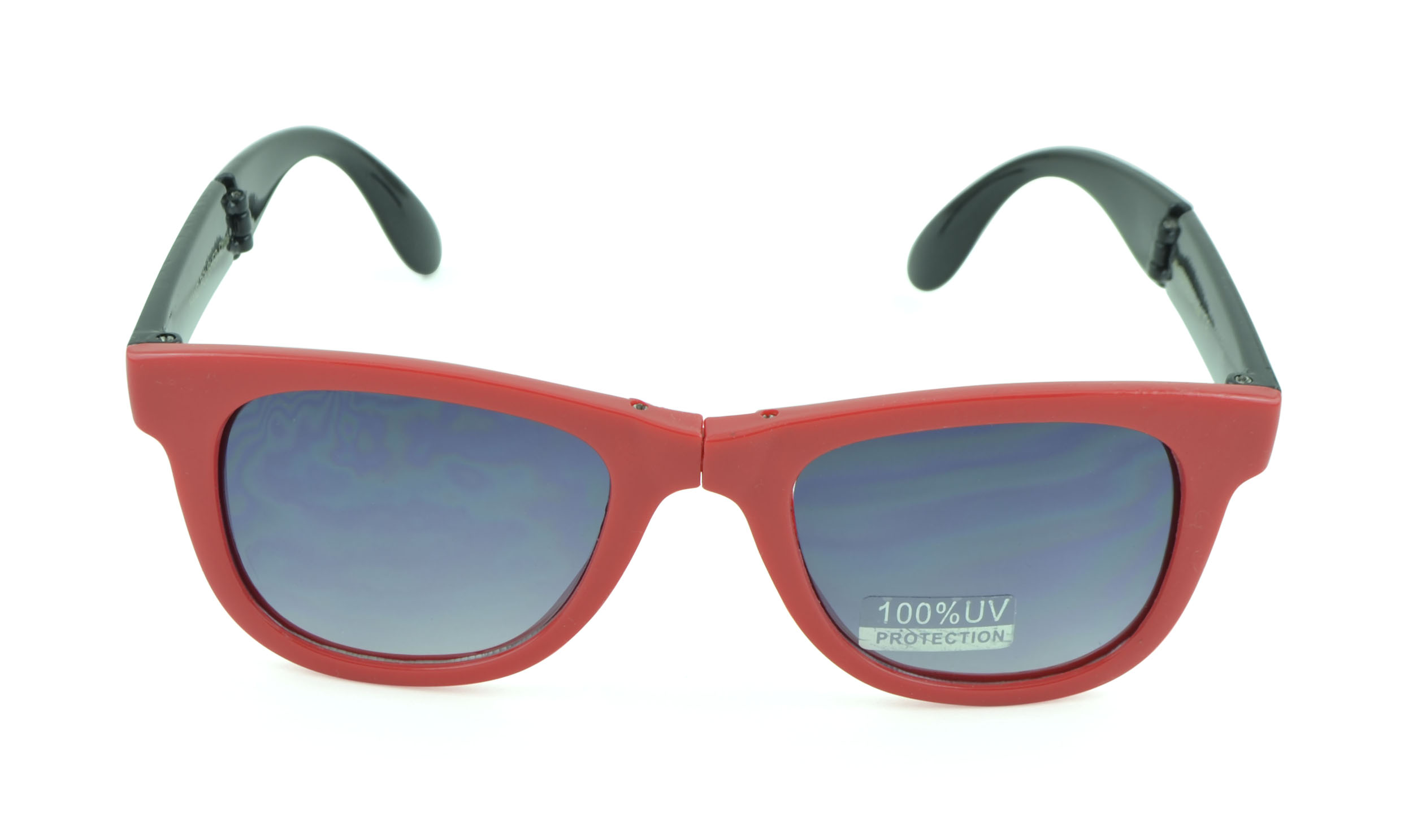 Belle Donne - Mens Womens Classic Fashion Eyewear Foldaway Sunglasses - Red